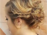 Updo Hairstyles for Prom with Braid 27 Super Trendy Updo Ideas for Medium Length Hair