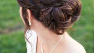 Updo Hairstyles for Weddings Bridesmaids 20 Beautiful Braided Updos for Brides Mon Cheri Bridals