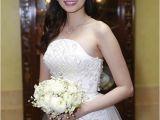 Vietnamese Wedding Hairstyles Beautiful Wedding Hairstyle Of Vietnamese Celebrities
