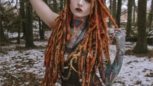 Viking Hairstyles Dreads Hair Dreads Dreadstyles Dreadlocks Girlswithdreads Tattooed