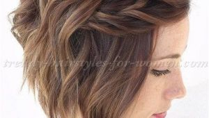 Wavy A Line Hairstyles Short Wavy Hairstyles for Women Wavy A Line Bob Hairstyle with