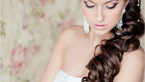 Wedding Hairstyle to the Side Side Swept Wedding Hairstyles to Inspire Mon Cheri Bridals