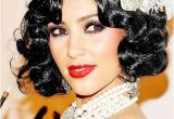 Wedding Hairstyles 1920 S Kim Kardashian 1920s Flapper Look
