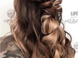 Wedding Hairstyles 2019 Up Creative Half Up Balayage Hairstyles Ideas for 2019