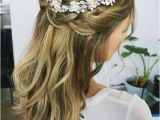 Wedding Hairstyles Down with Headband 32 Pretty Half Up Half Down Hairstyles – Partial Updo Wedding