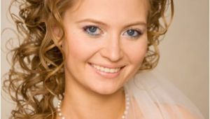 Wedding Hairstyles for Curly Hair with Veil Long Wedding Hairstyles with Veils and Tiaras Knot for Life