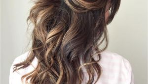 Wedding Hairstyles for Long Hair Down Curly Half Up Half Down Wedding Hairstyles – 50 Stylish Ideas for Brides