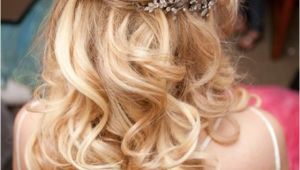 Wedding Hairstyles for Long Hair Down Pinterest 15 Fabulous Half Up Half Down Wedding Hairstyles