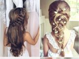 Wedding Hairstyles for Long Hair Flower Girl 2017 New Wedding Hairstyles for Brides and Flower Girls