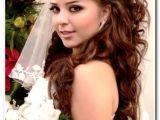 Wedding Hairstyles for Long Hair Half Up with Tiara Bridal Hair with Veil and Tiara