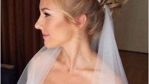 Wedding Hairstyles for Long Hair Up with Veil 42 Wedding Hairstyles with Veil My Wedding