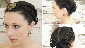 Wedding Hairstyles Games the Hunger Games Wedding Hairstyle Tutorial