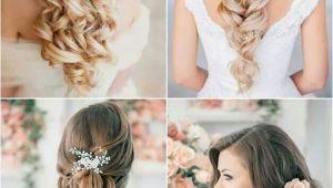Wedding Hairstyles Left Down Wedding Hair Hair Pinterest
