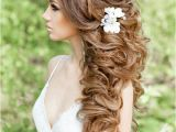 Wedding Hairstyles Long Down Curly 20 Gorgeous Half Up Wedding Hairstyle Ideas 15