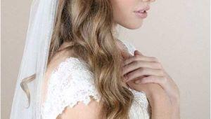 Wedding Hairstyles Long Hair Down Veil 4 Half Up Half Down Bridal Hairstyles with Veil