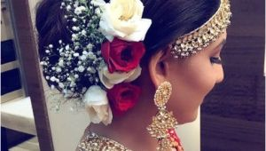 Wedding Hairstyles On Saree Hairstyle for Designer Saree Lovely Indian Bridal Hairstyles