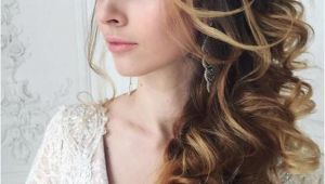 Wedding Hairstyles On the Side with Curls Wedding Hairstyle Inspiration Hair & Beauty Pinterest