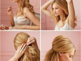 Wedding Hairstyles Step by Step Instructions 25 Five Minute Less Hairstyles that Ll Save You From