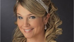 Wedding Hairstyles with Headband and Curls Long Wedding Hairstyles with Headband