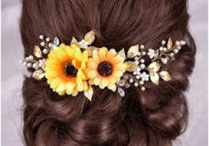 Wedding Hairstyles with Sunflowers 419 Best Hairstyles and Veils Images