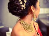 Wedding Reception Hairstyles for Indian Bride Pin by Kreddy On కురుల అలంకారం Hairstyles