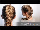 Youtube Braided Hairstyles for Short Hair How to Dutch Braid Hair Tutorial 🙌🙌❤