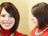 Youtube How to Cut A Bob Haircut A Line Bob Hairstyles How to Cut A Stacked A Line Aline