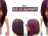 Youtube How to Cut A Bob Haircut How to Style Short Hair Bob Dramatic asymmetrical A Line